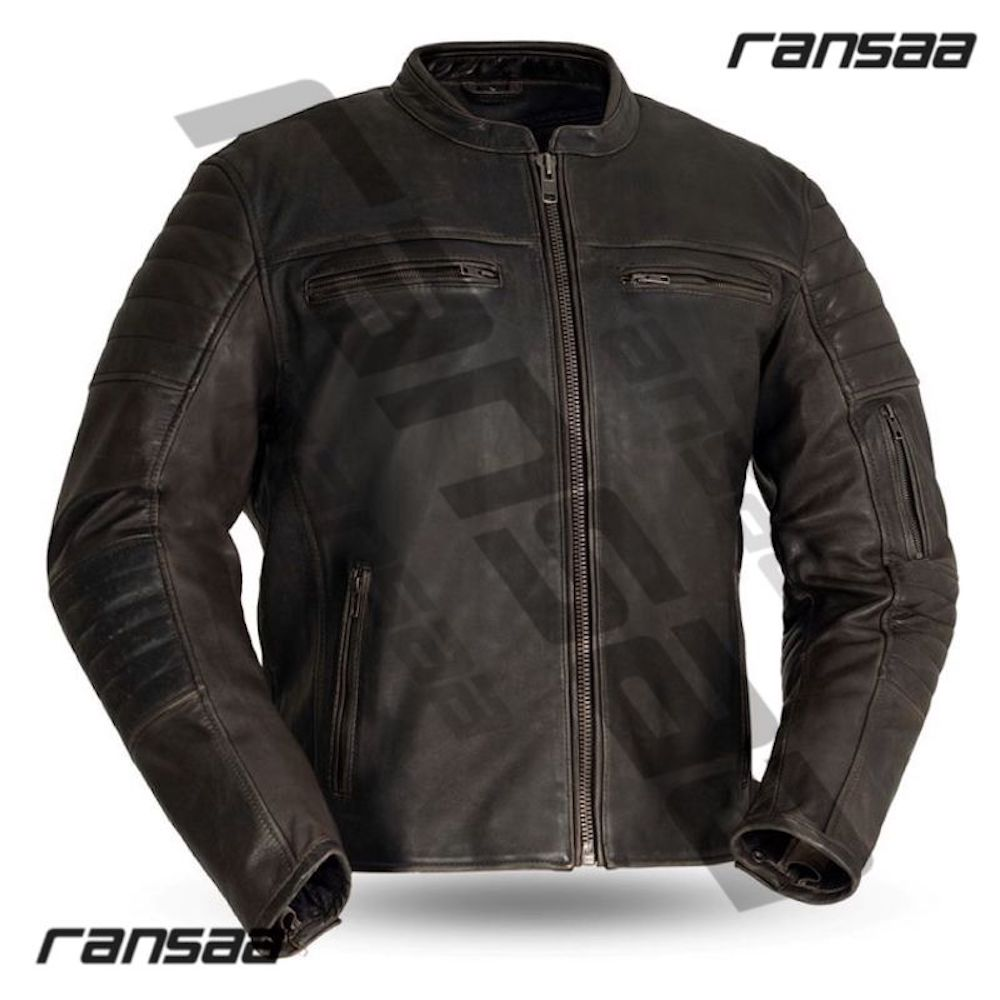 Route 66 Classic Motorcycle Jacket